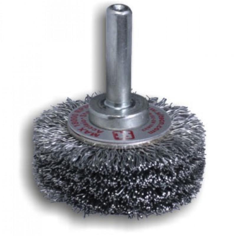 Spazzola circolare con gambo in acciaio GG44 REF 853, Spazzole in acciaio, sit | Magnabosco Express - 00025294