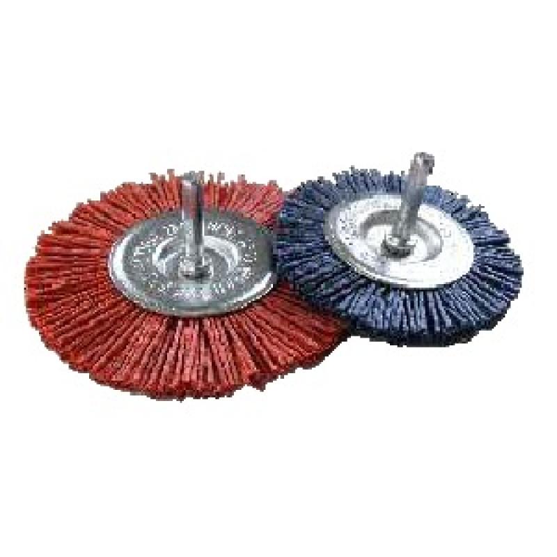 Spazzole circolari con gambo in ABRASIT G100A REF 611, Spazzole in acciaio, sit | Magnabosco Express - 00070669