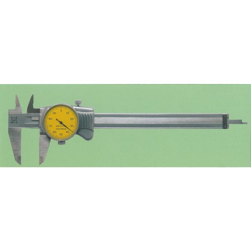 Calibro con orologio art.2301501 da 0 a 150 mm, Calibri a orologio, rupac | Magnabosco Express - 00082501