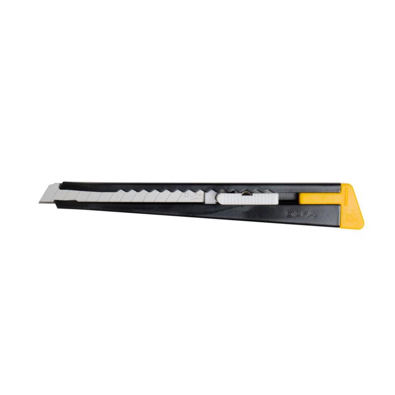 Cutter con cursore 180/B Larghezza lama 9 millimetri, Cutter e coltelli, olfa | Magnabosco Express - 00112499