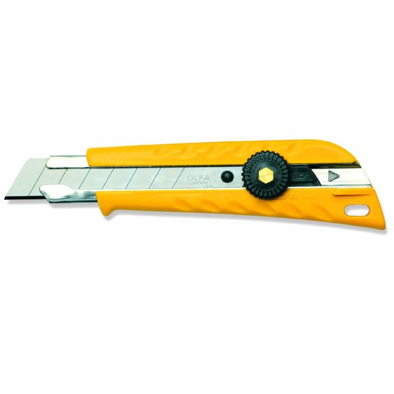 Cutter con rotella L-1 larghezza lama 18 millimetri, Cutter e coltelli, olfa | Magnabosco Express - 00112505