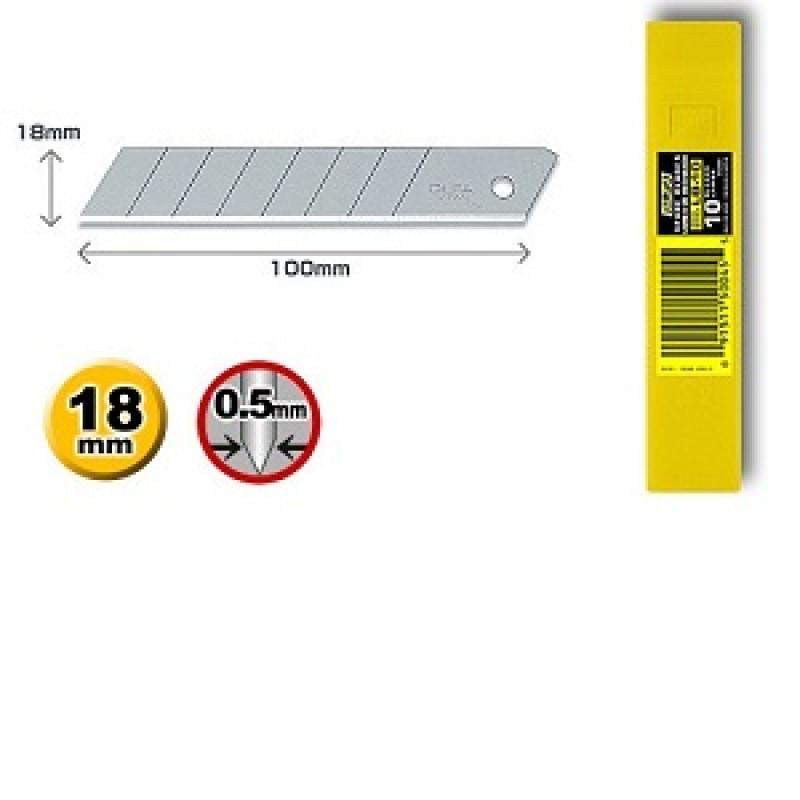 Confezione 10 lame standard LB-10 per Cutter, Cutter e coltelli, olfa   Magnabosco Express - 00112543