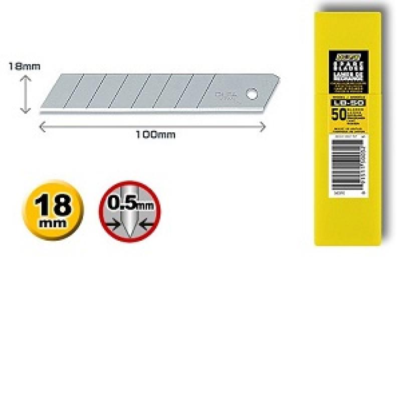 Confezione 50 lame standard LB-50 per Cutter, Cutter e coltelli, olfa | Magnabosco Express - 00146876