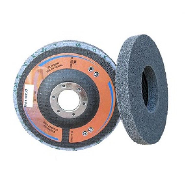 Disco compresso supporto in fibra 115X22 Grana fine, Dischi in scotch brite, cta | Magnabosco Express - 00155274