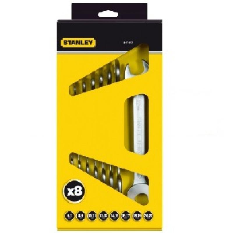 Serie di chiavi a forchetta doppia 4-87-052, Chiavi a forchetta, stanley | Magnabosco Express - 00155663