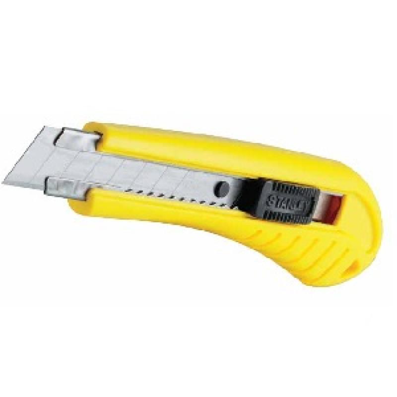 Cutter autobloccante 1-10-280 larghezza 18 millimetri, Cutter e coltelli, stanley | Magnabosco Express - 00169936