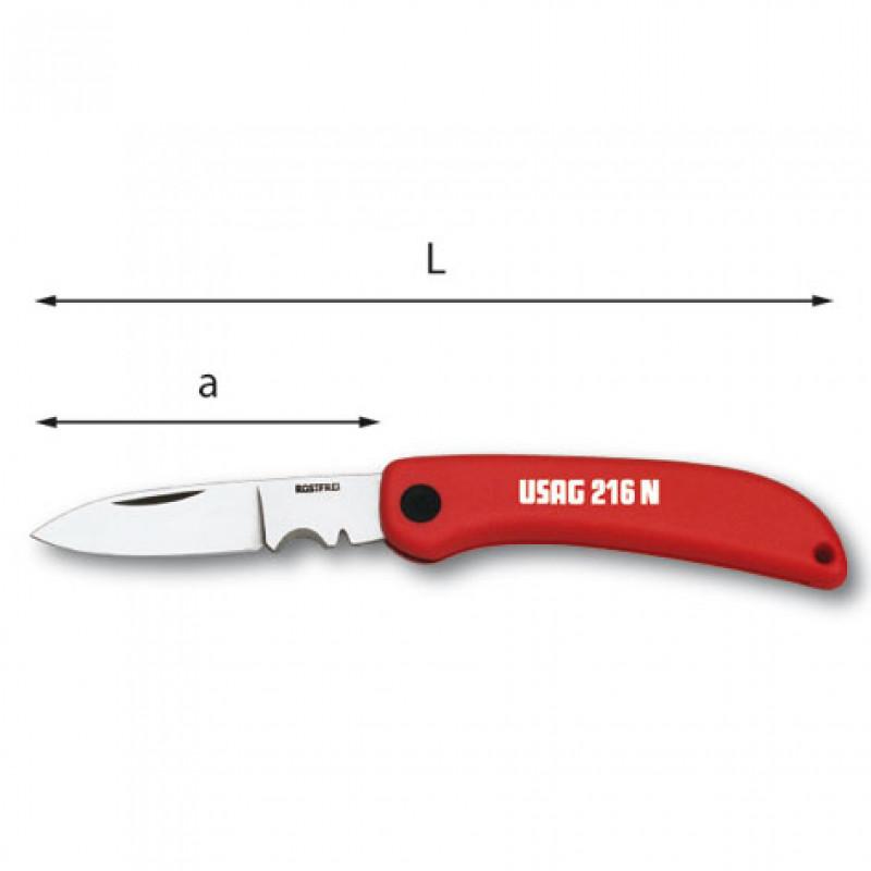 Coltello 216 N ELETTRICISTI, Cutter e coltelli, usag | Magnabosco Express - _N_F01_1