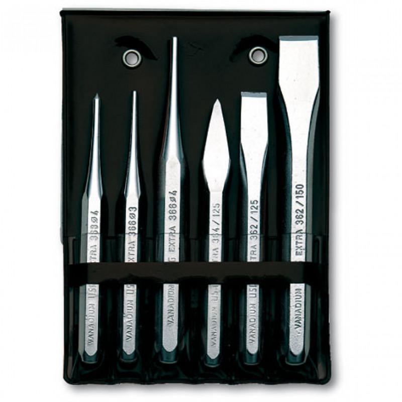 Serie scalpelli 372 SE6, Cacciaspine e punteruoli, usag | Magnabosco Express - E6_F01_1