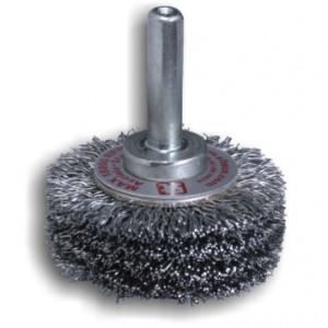 Spazzola circolare con gambo in acciaio GG44 REF 853