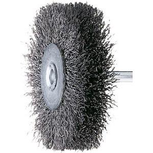 Spazzole acciaio RBU perno 6 filo 0,30