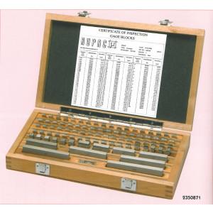 Set blocchetti di riscontro in acciaio  misura da 1,3 a 2,0 mm