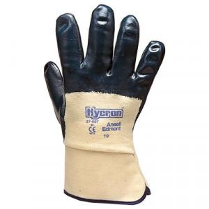 Fodera di jersey e rivestimento in nitrile sul palmo e manichetta di