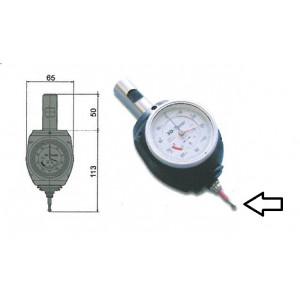 Puntalino per centratore 975.011 diametro 4 lunghezza 27 mm