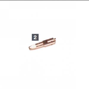 Tubo portacorrente FRO dimensioni M6X28 Cu diametro 1mm