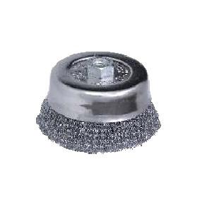Spazzole a tazza in acciaio T120 REF 147
