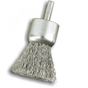 Spazzole a pennello con gambo in acciaio P25 REF 820