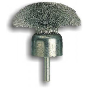 Spazzola pennello a fungo con gambo in acciaio 710/25 REF 834