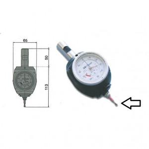 Puntalino per centratore 975.012 diametro 8 lunghezza 69 mm