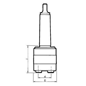 Maschiatore 21480/3 CM3 DIN 228-B senza compensazione assiale