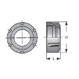 Ghiera di serraggio standard G32S DX