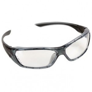 Occhiali lenti trasparenti Forceflex montatura grigia