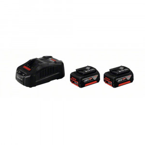 KIT CARICA BATTERIE BOSCH LITIO GAL1880CV+2 BATTERIE 18V 6AH CON