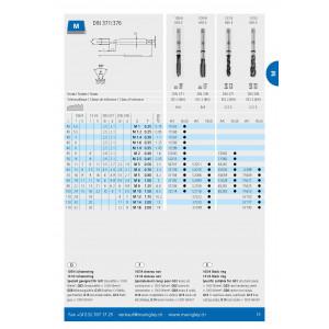 MASCHI HSS-E MANIGLEY 45° M4 ACCIAIO