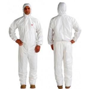 Tuta di protezione polveri , liquidi 4545 bianca taglia XL